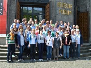 Tambourcorps-Ostenland Jubiläumsfahrt nach München